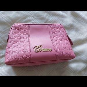 Oroton Pink Make-up Bag